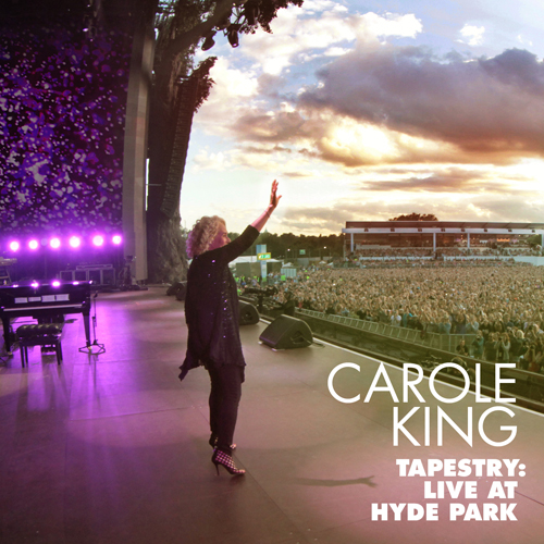 CAROLE KING 'TAPESTRY LIVE AT HYDE PARK' CD/DVD